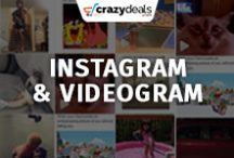 Instagram and Videogram - Crazydeals / Here you will find the most trendy videos of events happening in UAE and new products that are coming up on daily basis!