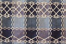Beiersbont. / Embroidery on Beiersbont