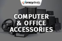 Computer & Office Accessories - Crazydeals / Whether you are in need of hardisk for your computer or stationary for your office, you will find everything under one board.