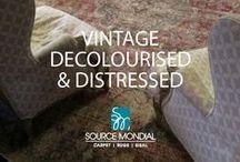 Vintage Decolourised & Distressed