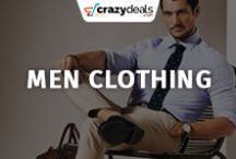 Men Clothing - Crazydeals / Want to look stylish? Looking for the latest in men's fashion? You are the right place. This board will guide you the latest addition in men's fashion to help you give a stylish and trendy look this season.