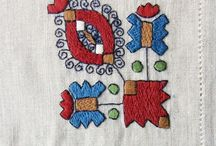 Hungarian Embroidery and other needle art / Hungarian embroidery, lace, weaving and other textile. Every region, town and even village has their own characteristic use of stitches, colours and so on.