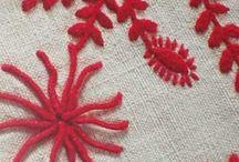 Bordado de Guimarães. / Embroidery from Portugal: Bordado de Guimarães.