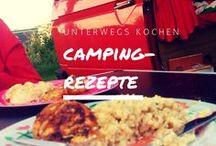 Camping-Rezepte: unterwegs kochen / Wenn wir mit dem Bulli unterwegs sind, haben wir nur zwei Flammen auf dem Gasherd und wenig Platz. Beim Kochen (und Backen!) muss es deshalb etwas einfacher zugehen. Am besten easy, schnell und lecker.