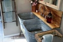 BATHROOMS-COUNTRY,VINTAGE,PRIM / by Donilee Neeley