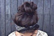 Hairstyles / by Tanya Sharan