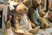cσℓℓεctίηɠ | Teddy & Cσ. / Vintage tender teddy bears & more friends