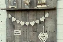 Ꮙίηʈαɠε | Pallets & Cɾαʈεʂ / Upcycled Pallets & Crates / Reclaimed wood decoration