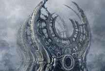 COSMIC SAILOR / Space / Futuristic / Art / Dystopia