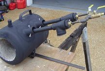 Home build forges / Small home made propane forges.