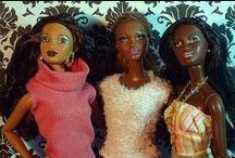 black dolls / poupeés noire