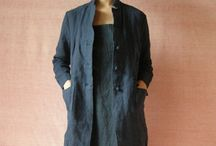 Japanese clothing inspiration / Simple Japanese (and Japanesque) garments, with a lean toward linen
