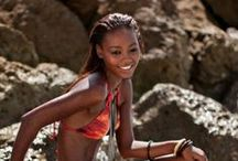 BATHING SUIT INSPIRATION / femmes en tenues de plage