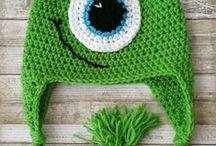 Hats ideas - crochet/ knitting
