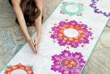 Yoga Mats / Yoga mats don't have to be dull and boring. On this board you will find our favorite, unique yoga mat