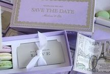 Save The Date Cards / Beautiful and unique save the date ideas