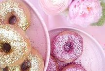 Donuts for Bridal Showers and Wedding Receptions - See Jane Sample / Wedding desserts and treats, beautiful donuts