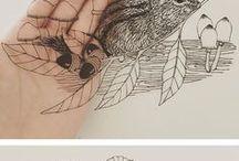 PAPER / ART / Papierkunst /// Natur /// Scherenschnitt /// Cut /// Paper Art