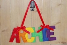 Personalise It for baby / Customised and personalised gifts for baby - wall hangings, wall prints, memory boxes