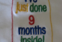 Embroidered Slogan Baby Wear / Fully embroided funny slogans - bringing humour to your little ones.