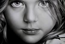 ~ Drawings ~ / Graphite drawings are my passion! Mediums include graphite (pencil), pen, ink, charcoal & conte crayon.   PLEASE DO NOT PIN MORE THAN 10 AT A TIME. THANK YOU.  Enjoy,   -) / by Jean Scott