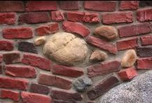 ~ DIY ~ Stone, Brick, Cement / Stone  or brick pathways, patios, interior/exterior walls, garden ideas, and the different ways to build them. PLEASE DO NOT PIN MORE THAN 10 AT A TIME.  THANK YOU.  HAPPY PINNING! :-)   / by Jean Scott