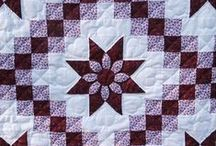 PATCHWORK, QUILTS AND FRABICS / by Gail Chesham