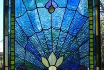 GLASS AND MOSAICS / by Gail Chesham