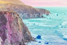 Home and Heart / Interior design that I want and love