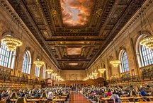 Must-See Libraries / Libraries of all kinds, both near and far, that are a must-see!