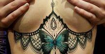 tattoo no peito / ♥♥♥