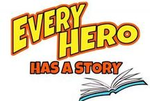 Every Hero Has A Story: Summer Reading Program 2015 / by Coos Bay Public Library
