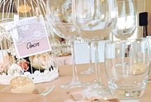 Wedding white & pink / Wedding#love#romantico#shabby#white & pink