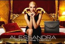 """ALESSANDRA - Our Executive Collection / The Alessandra is our laptop size handbag and comes with a 59"""" chain. This bag may be worn as cross body, double shoulder chain or clutch. Dimensions: Closed: Closed: 13"""" x 11.5"""" Open: 13"""" x 29"""" Handmade in Italy."""