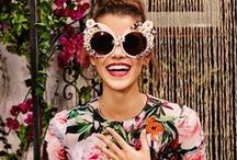Spring/Summer Eyewear Fashion Trends / Sunglasses + eyeglasses that pair with this spring & summer's hottest fashion trends.