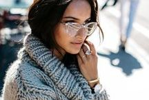 Fall Eyewear Fashion Trends / Sunglasses + eyeglasses that pair with this fall's hottest fashion trends.