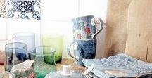 IMPRESSIONEN ♥ Wunderschönes Geschirr / Geschirr, Keramik und Porzellan: wir lieben es an einem schön und stillvoll gedeckten Tisch zu essen!