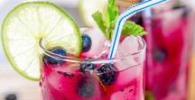 IMPRESSIONEN ♥ Summer Drinks / Sommer, Sonne und lauschige Abende mit der Familie und Freunden - dazu gehören natürlich frische, fruchtige Sommer Getränke und Drinks!