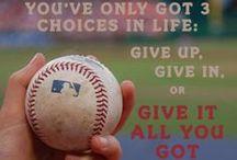 Baseball ⚾ / by Emily Gorecki
