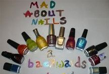 Mad About Nails at A Backwards Story