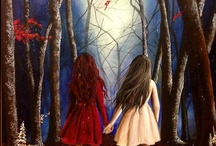 Once Upon An Inspiration / Fairy Tale art that inspires or intrigues me! / by Bonnie Wagner