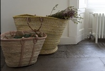 baskets / manden / manden en rieten tassen / by Margreet Kroon