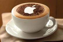 latte art / wat kan je maken van een simpele capocino / by Margreet Kroon