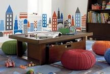 Nursery Ideas / Love these themes - great colors and furniture!!