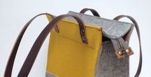 SHOPPER * The large felt and leather tote shopper bag is here to stay. Details and colour options. / This board is to show you all the detailing of the felt xl shopper from our Westerman bags collection. A Handmade felt bag with vegetable tanned leather handles and details.