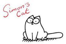 simon's cat kitten / animals are
