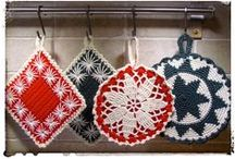 Potholders & Dish cloths