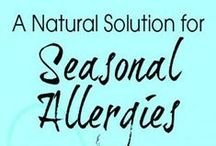 Seasonal Allergy Help / This board is about avoiding and helping those pesky seasonal allergies.
