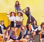 Pose References / Pose references, message me if you find anything else good please. I've recently discovered K-Pop promotion photos are a good resource but I've only really looked at the stuff that came up for Twice, particularly the Knock Knock promotion, as you can see.