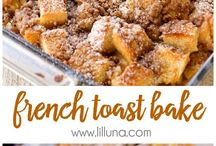 Brunch ideas / Just some ideas for Saturday